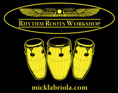 Rhythm Roots Workshop logo